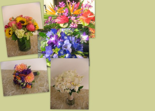 more colorful bouquets